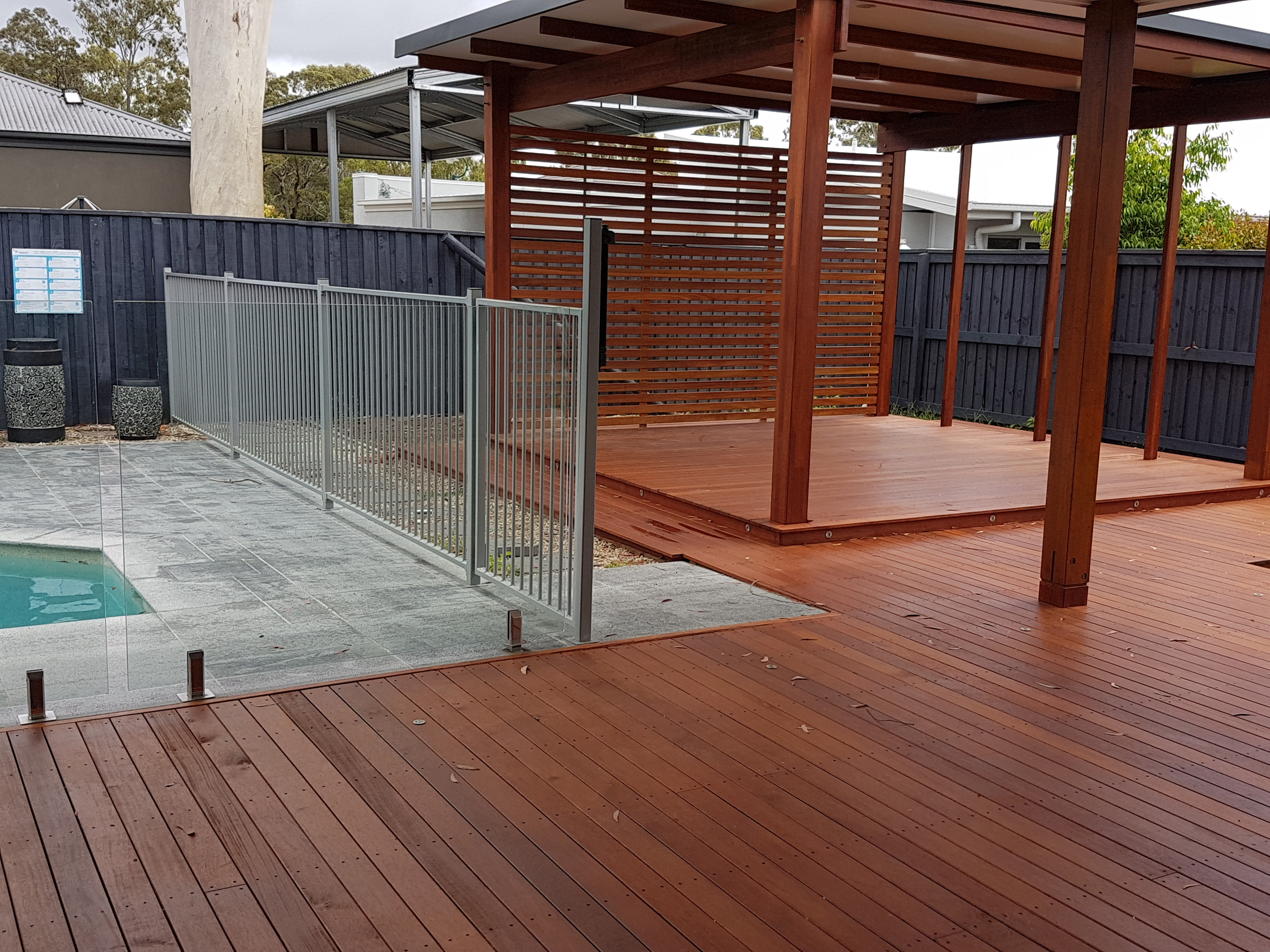 Timber Deck builder