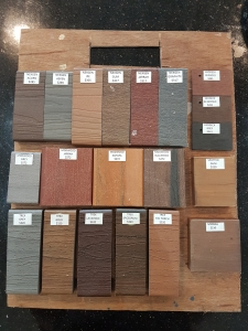 timber deck samples