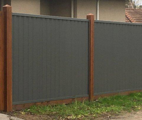 Colour bond fence Brisbane