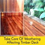 Timber Deck Care
