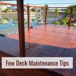 Deck Maintenance Tips